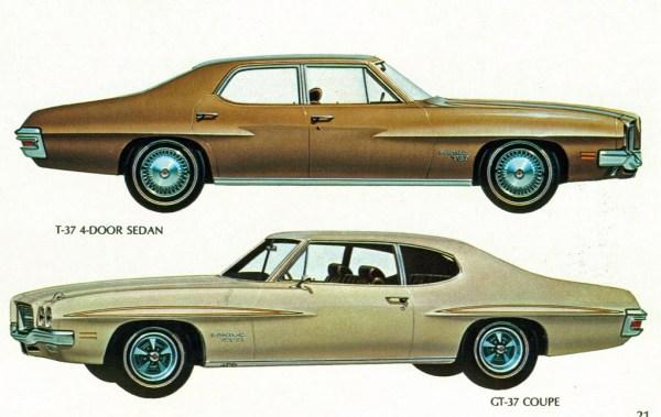 1971 pontiac t37 and gt37