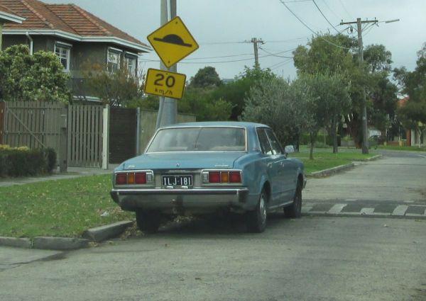 1976 Toyota Crown Super Saloon rear