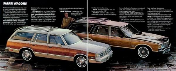 1981 Pontiac Safari range