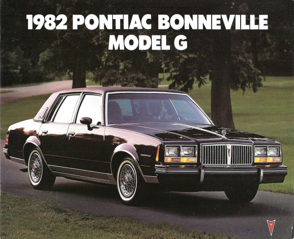 1982 Pontiac Bonneville Model G