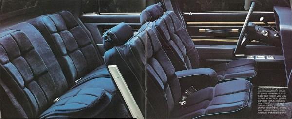 1982 Pontiac Bonneville interior