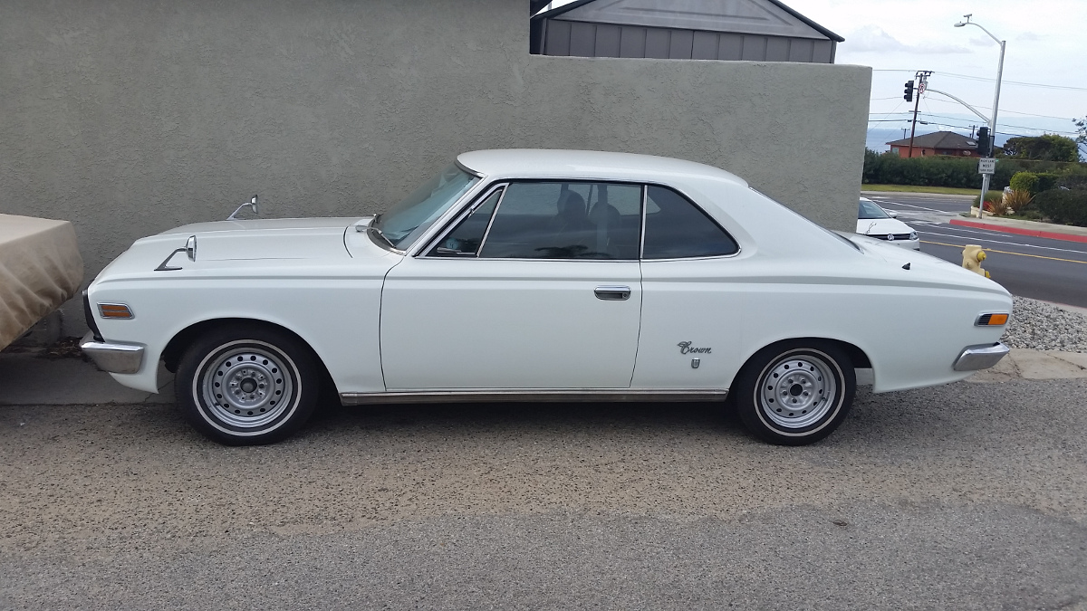 CC Capsule: 1969 – 1971 Toyota Crown Hardtop – Found Far Away From Home | Curbside Classic