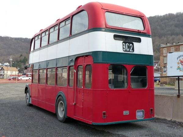 Bristol Lodekka rear 3_4 Johnstown PA 20151230