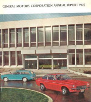 GM annual report Vega