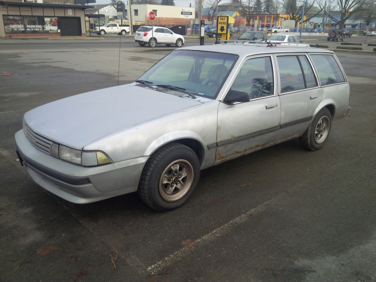 Curbside Classic: 1989 Chevrolet Cavalier CL Wagon – Final ...