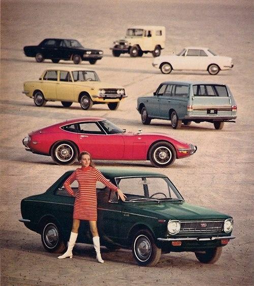 Toyota 1968 line'