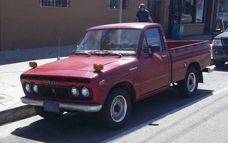 Curbside Classic First Generation Toyota Hilux Building