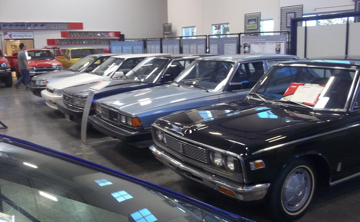 Cc Museum The Toyota Motor Museum In Torrance California