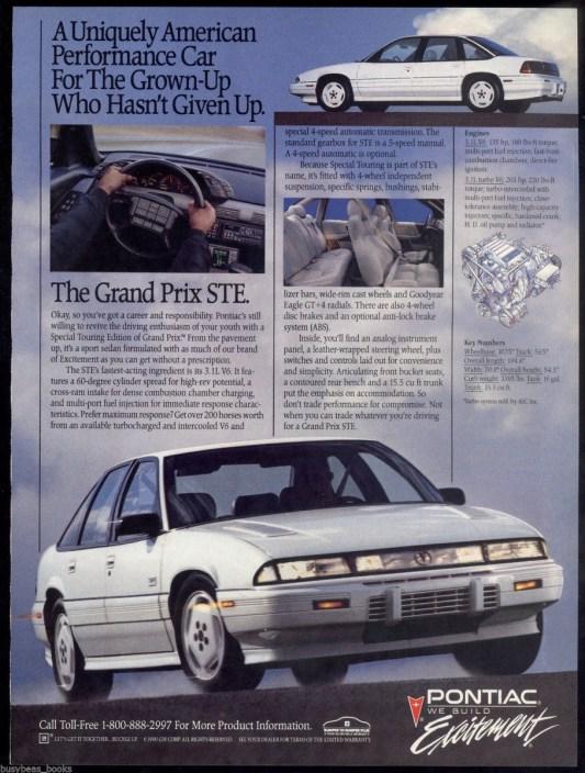 pontiac grand prix ste turbo 3