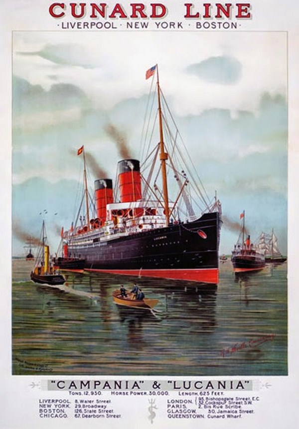015 1900-Cunard-Line-Liverpool-New-York-Boston-Campania-Lucania