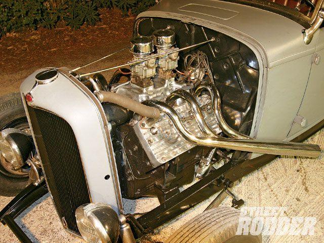 0902sr_09_z+1936_ford_coupe_1932_ford_highboy_roadster+346ci_cadillac_flathead_engine