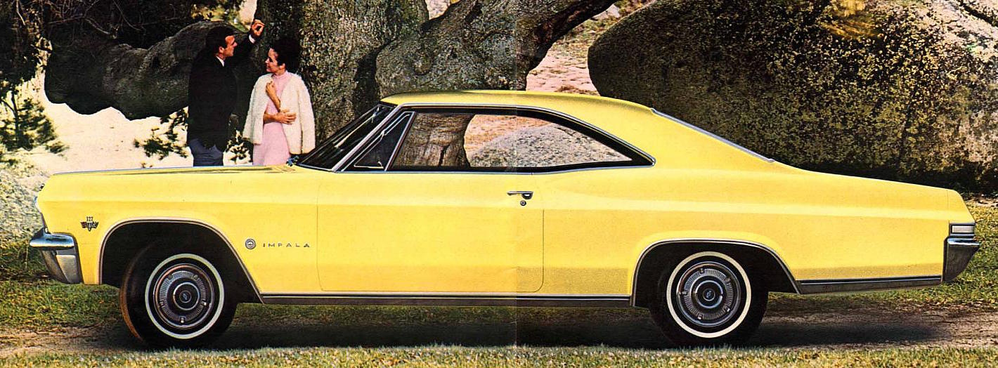 Vintage Reviews 1965 Chevrolet Impala Sport Coupe Three