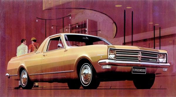 Holden HK Ute. (Australia)