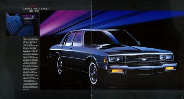 1985 Impala brochure