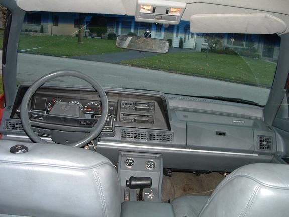1991 dodge monaco interior