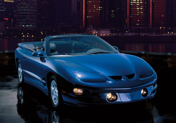 1998 2002 pontiac firebird trans am convertible