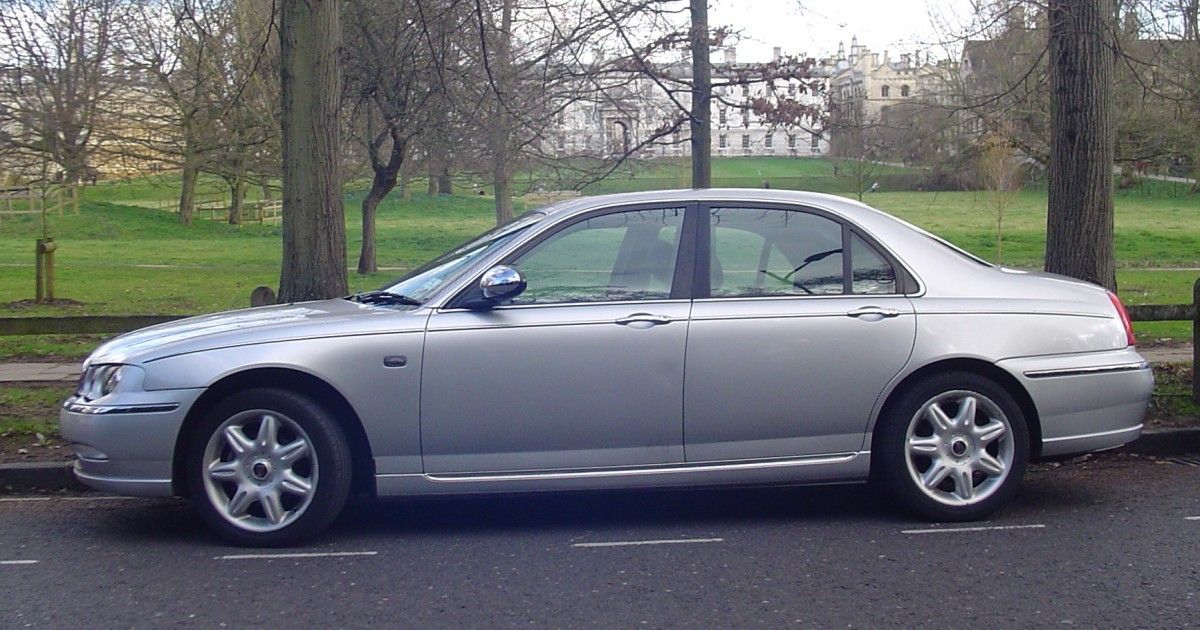 Curbside Classic: 2004 Rover 75 2.5V6 – High Expectations of ...
