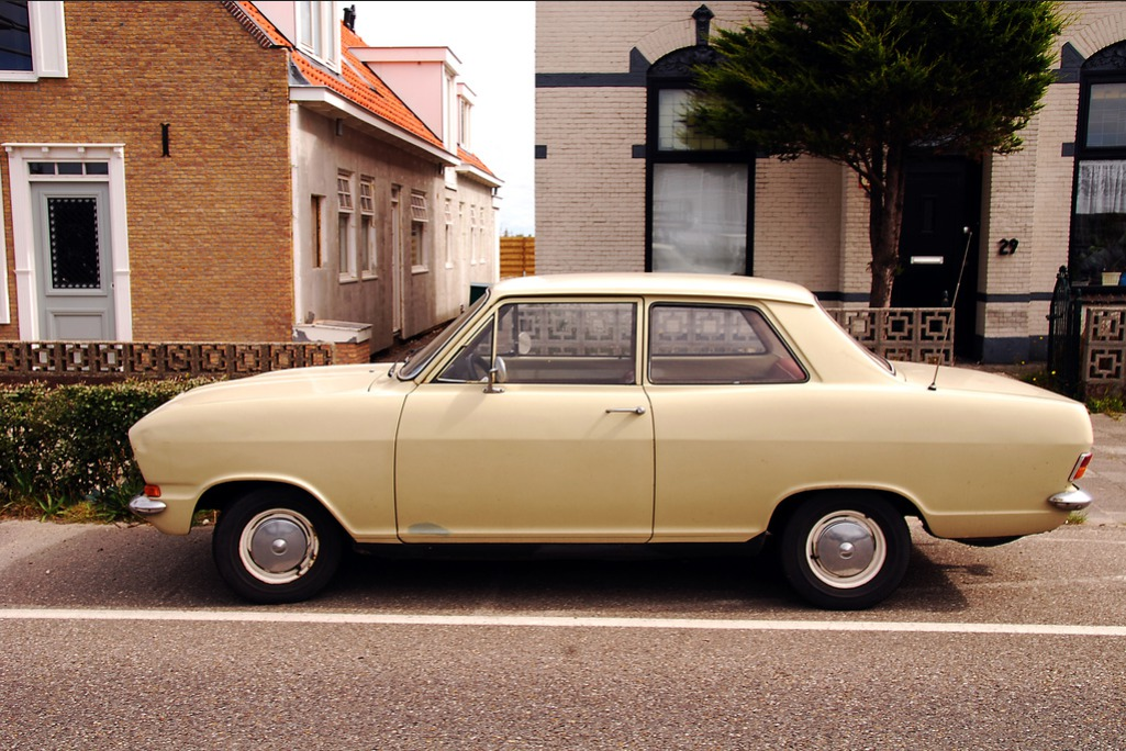 curtis perry outtake opel kadett b sedan found in monster. Black Bedroom Furniture Sets. Home Design Ideas