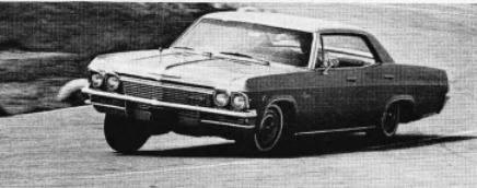 Chevrolet 1965 curve