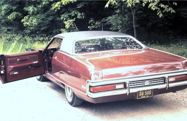 Mercury 1972 slide door