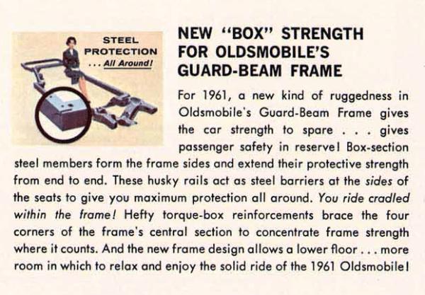 X Frame 61 Olds
