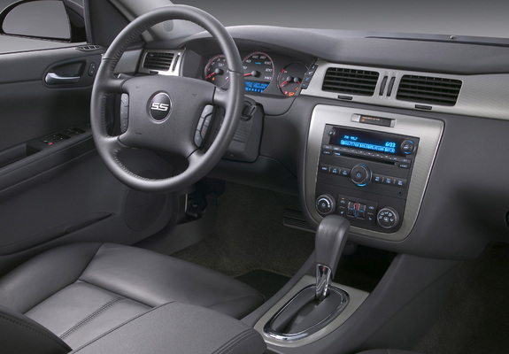 chevrolet impala ss interior