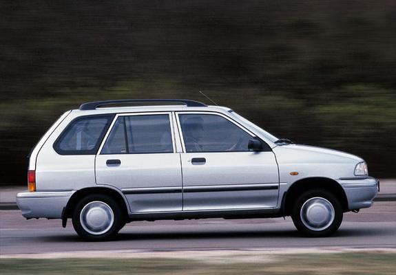 kia pride wagon 1