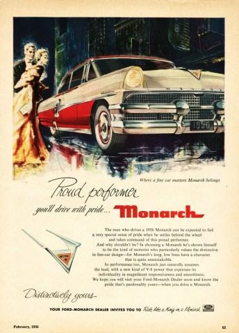 1956 Monarch Ad