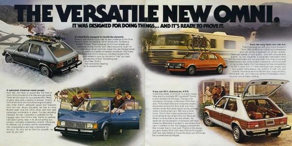 1978 Dodge Omni brochure