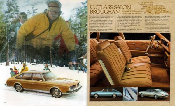 1978 Oldsmobile Cutlass Salon Brougham sedan brochure
