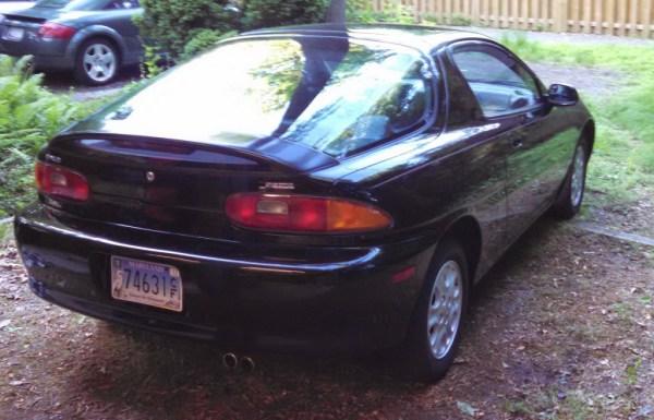 1995 Mazda MX-3 II right rear
