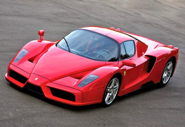 2002 Ferrari Enzo; top car design rating and specifications