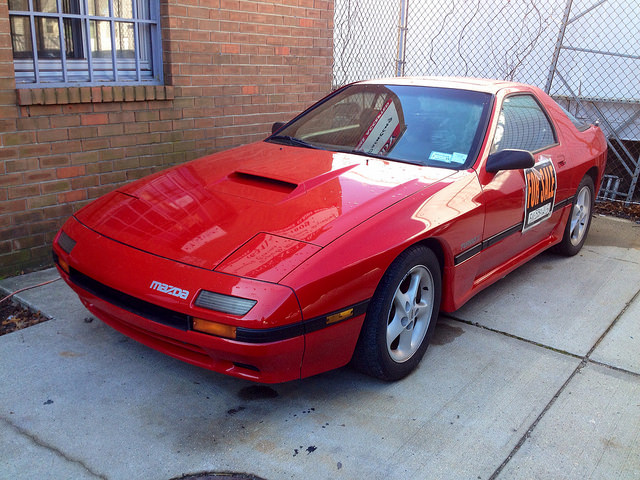 Cohort Outtake 1987 Mazda Rx 7 Turbo Ii Another One Calls