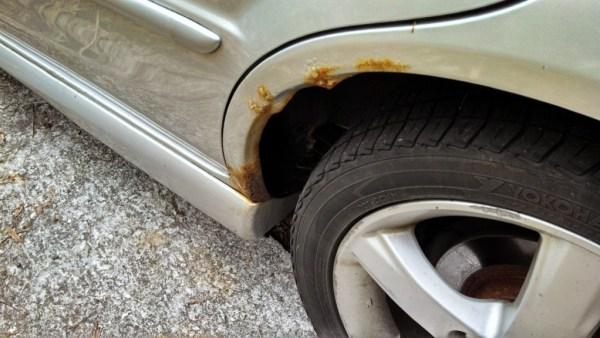 5 - Mazda Protege5 Rust