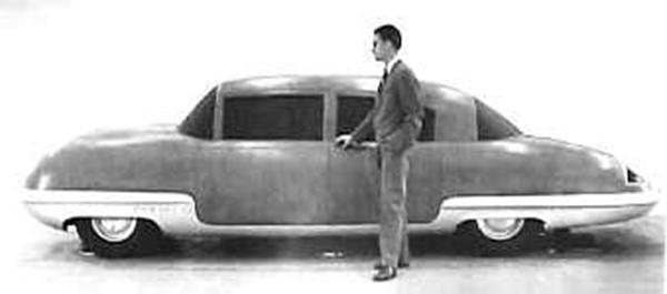 Cadillac 1946 interceptor side