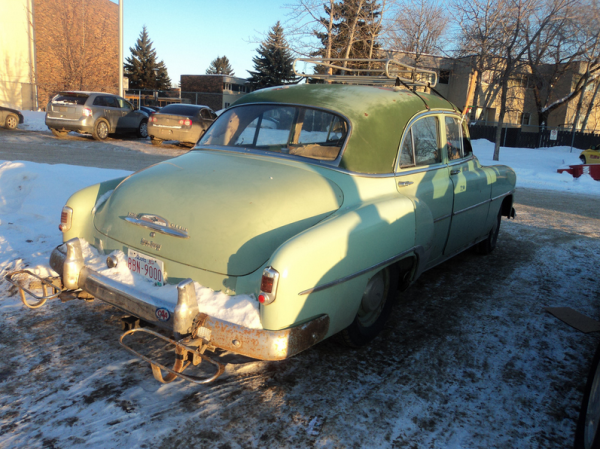 Chevrolet 1952 canadiancatgreen