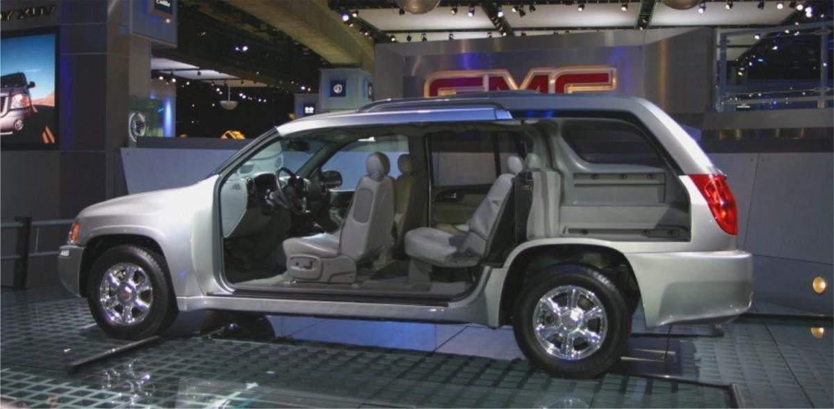 Envoy XUV 2 & CC Outtake: 2004 GMC Envoy XUV u2013 And Whose Bright Idea Was This?