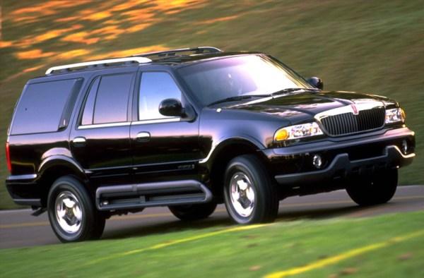1999 Lincoln Navigator Front Passenger Side