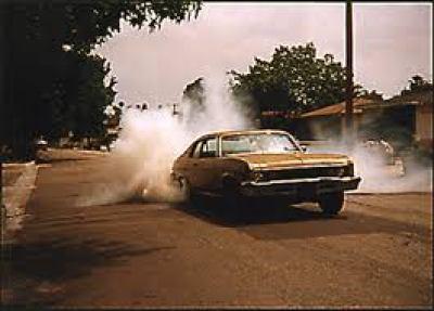 Nova 1973 burnout