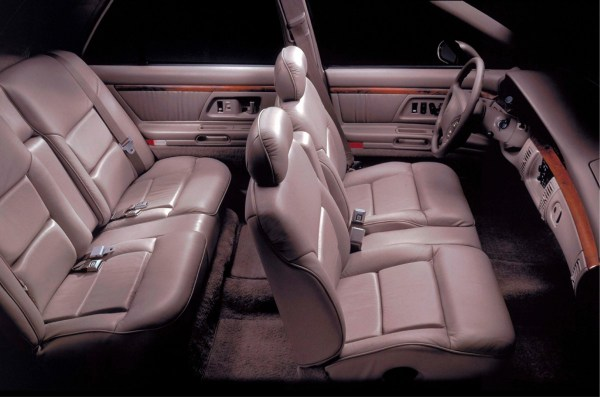 Oldsmobile Regency interior