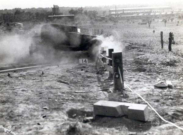 Vintage crash test