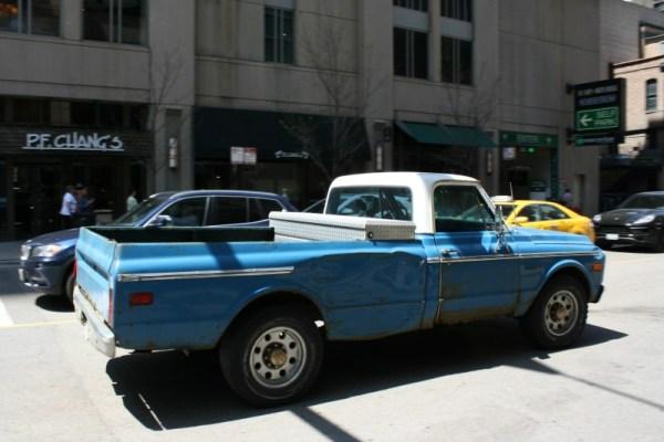 045 - 1971 - '72 Chevrolet Custom 20 pickup CC