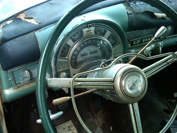 1953 Chrysler Imperial shift quadrant from jpcavanaugh's July 16, 2013 CC Article.