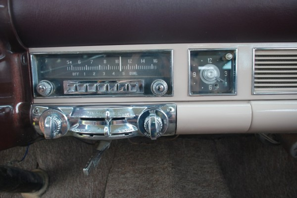 1953 Chrysler Radio. That off button didn't always mean off.