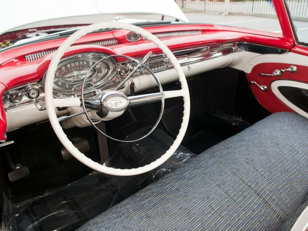 1957 Oldsmobile Interior - Same colors as COAL 2.