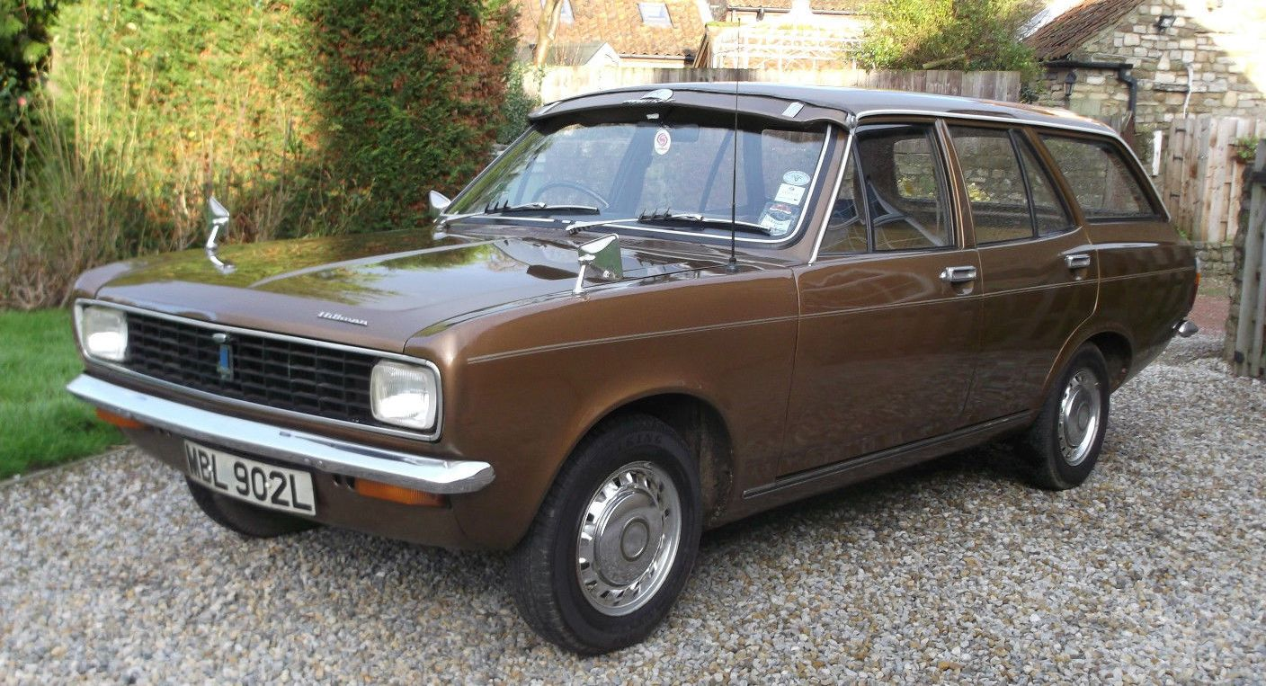Ebay Classic 1973 Hillman Avenger 1500 Super Estate After Optimism Exile