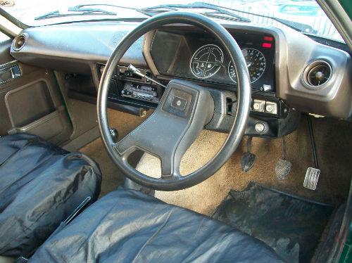 1980 talbot avenger 1.3 ls interior
