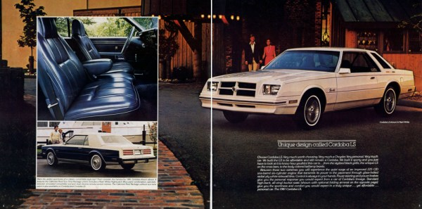1981 Chrysler Cordoba ad CC