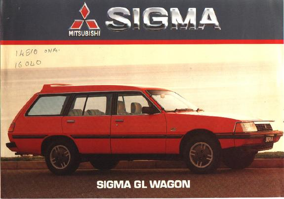 1986 mitsubishi sigma wagon