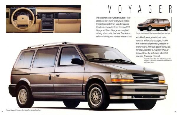 1991 Voyager brochure
